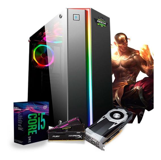 Pc Gamer I5 8400 Z370m Aorus (gtx 1060 6gb) 8gb / Ssd 240