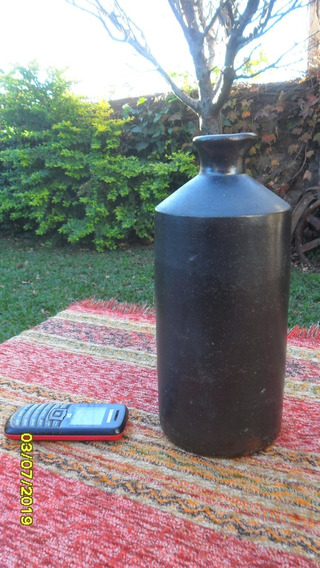 Antigua Botella Gress Ceramica Cocida De Tinta Bourne Denby