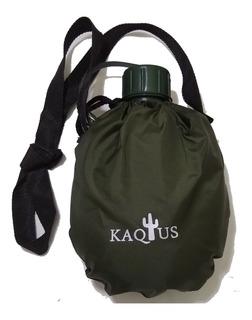 Cantimplora Kaqtus 1 Litro Ideal Campamentos Funda Y Correa