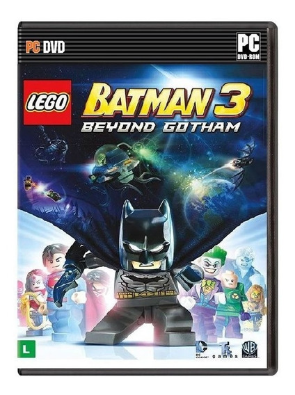Lego Batman 3 - Pc - Frete Grátis