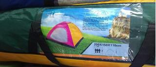 Carpa, Camping, Tienda De Campaña, Tipo Igloo Para Dos Tlvb