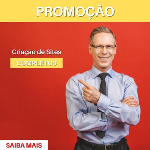 Criação Site Personalizado Profissional Completo - 5 Páginas