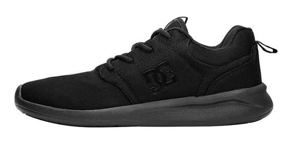 Tênis Dc Shoes Midway Preto / Preto