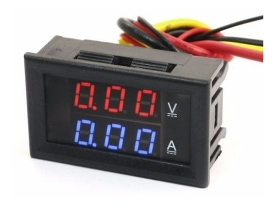 Voltímetro Amperímetro Digital 0-100vdc 50a Com Shunt