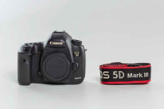 Câmera Canon Eos 5d Mark Ill - Corpo