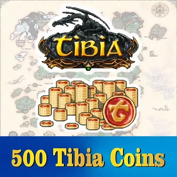 Tibia Coins (500 Tc) Transferível (todos Os Servidores)
