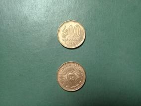 Moneda 10 Pesos Ley 18188