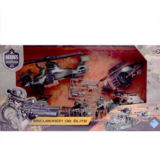 Vehiculos Y Muñecos Escuadrón De Elite Militar Aguila Negra