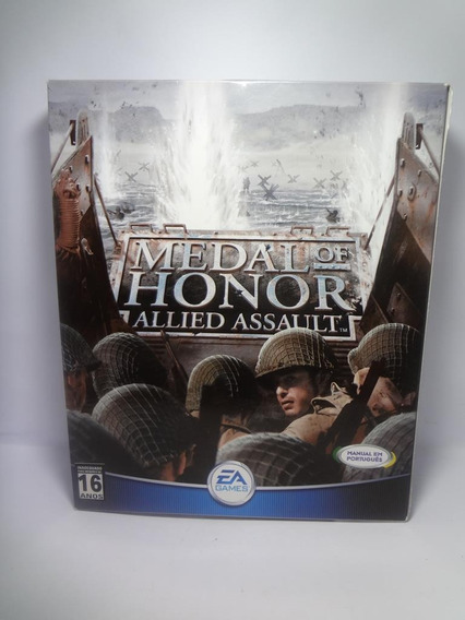 Jogo Game Pc Medal Of Honor Allied Assault