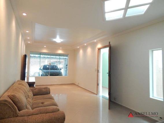 Sobrado Com 3 Dormitórios Para Alugar, 120 M² Por R$ 2.500,00/mês - Rudge Ramos - São Bernardo Do Campo/sp - So0772