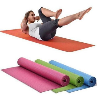 Colchoneta Yoga Y Camping Mat Pilates Ejercicios Aventura