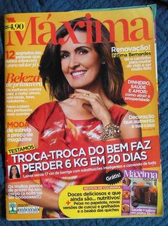 2 Revistas Fátima Bernardes Máxima Nº 28 Set 2012 Malu 699