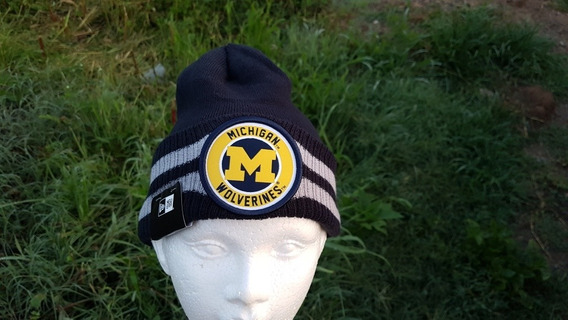 Gorro De Michigan Wolwerines New Era Unitalla