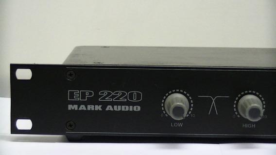 Processador De Sinal Crossover Prof. Ep220 Mark Audio