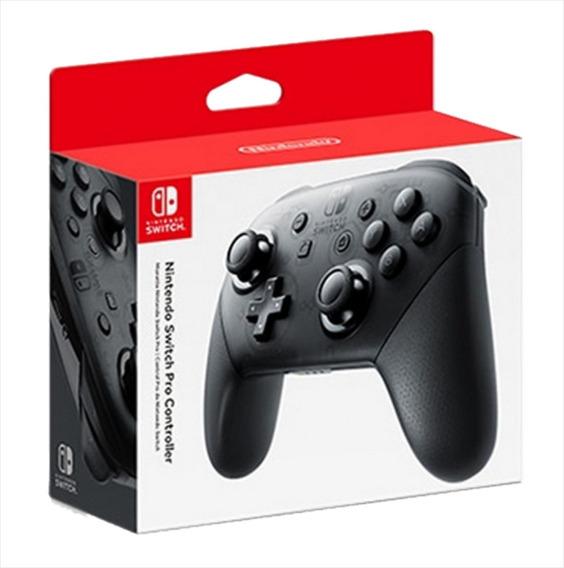 Nintendo Switch Pro Controller Original Novo Pronta Entrega