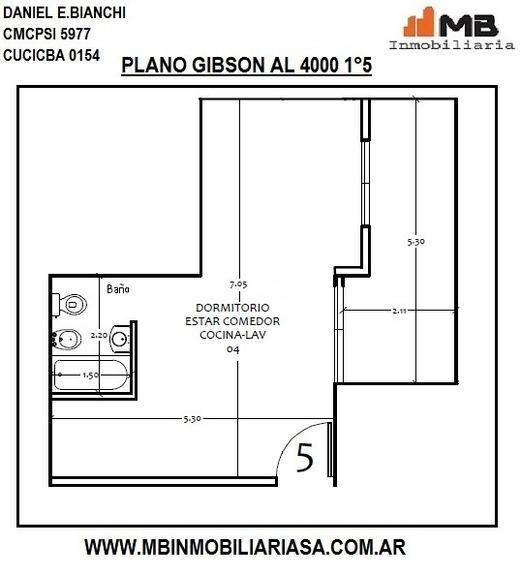 Boedo Venta En Pozo Ph Monoamb.c/balcón Gibson Al 4000 1°5
