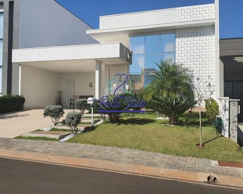 Imagem 1 de 15 de Indaiatuba- Sp, Casa A Venda Condomínio Dona Lucilla. Bela Vida Imobiliária - Ca01281 - 69567651