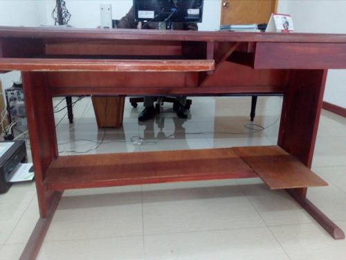 Muebles De Oficina De Madera.Muebles Oficina Usados Mesas Para Computador Madera 65 000