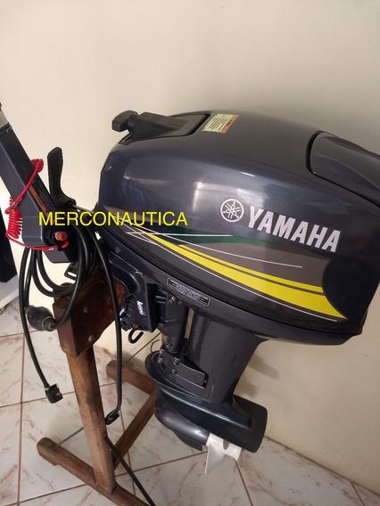 Motor De Popa Yamaha 15 Hp Revisado ( Frete Grátis )