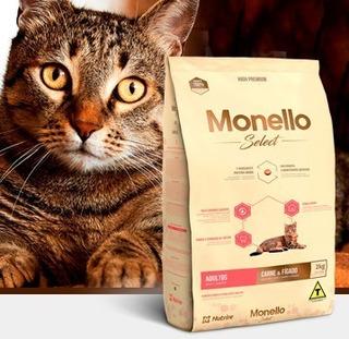Monello High Premium Select Cat Carne - kg a $16250