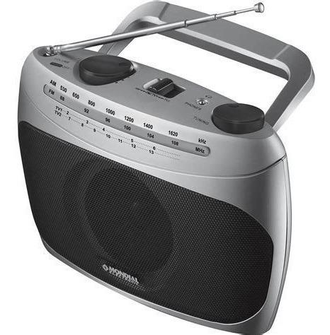 Rádio Portatil Mondial Rp-01 Am/fm