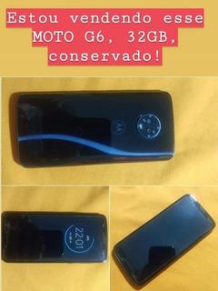 Celular Moto G6, 32gb