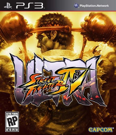 Ultra Street Fighter 4 Iv - Jogos Ps3 Playstation 3 - Envio Rápido