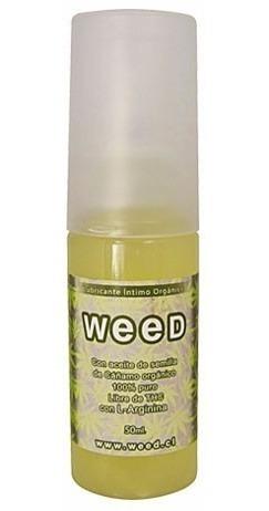 Lubricante Intimo De Cañamo Weed 50ml - Envíos Discretos