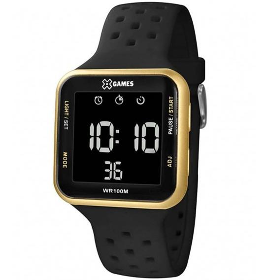 Relógio Digital Quadrado Xgames Esportivo Original Xgppd093