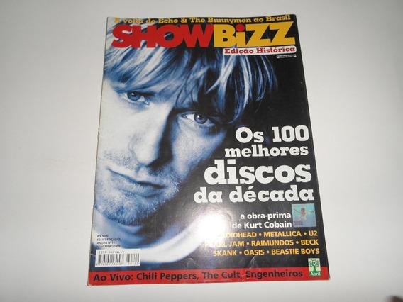 Revista Showbizz - Nirvana, Metallica, U2, Radiohead, Oasis