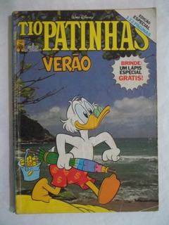 Gibi Hq Tio Patinhas Edição Especial Verão 2 Dez. 1984