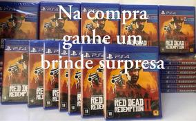 Red Dead Redemption 2 Ps4 Mídia Fisica Com Mapa