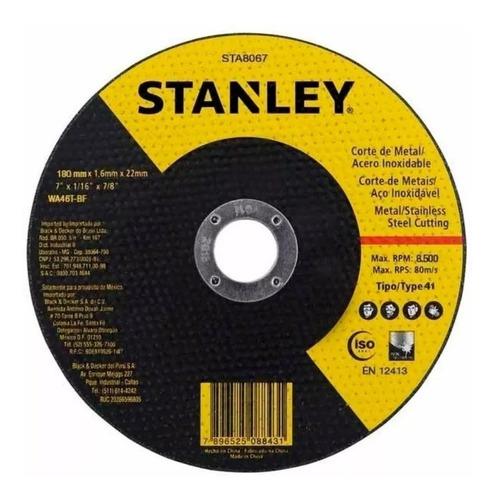 Disco Corte Amoladora Metal Stanley 9 Pulgadas Sta8069
