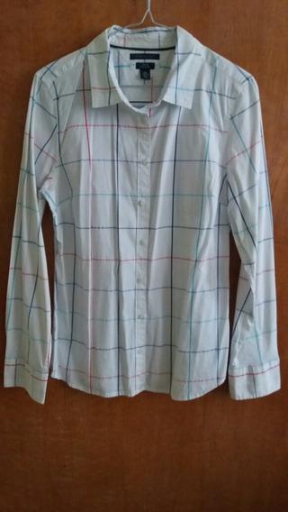 Camisa Manga Larga, Talla L/g, Marca Tommy Hilfiger
