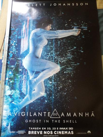 Poster:ghost In The Shell:scarlett Johansson:94cm X 64cm