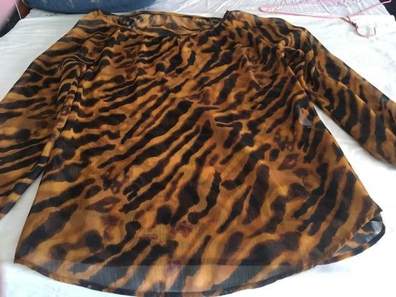 Bluson Talla 8 En Etampado Animal Print.