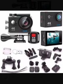 Camera Eken H9r + Carregador Duplo Com + 2 Baterias Extra