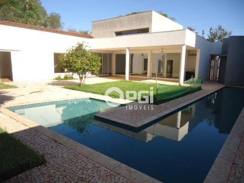 Imagem 1 de 29 de Casa Com 3 Dormitórios Para Alugar, 364 M² Por R$ 10.000,00/mês - Jardim Sumaré - Ribeirão Preto/sp - Ca2876