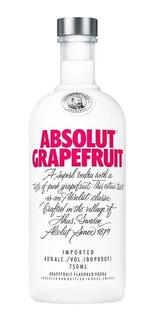 Vodka Absolut Grapefruit 750ml. - Cuotas