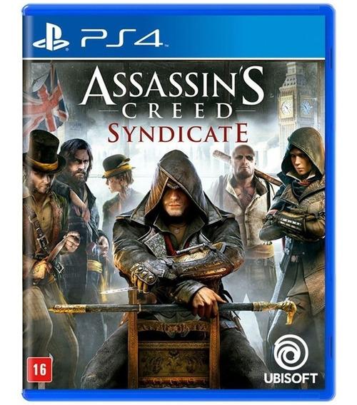 Assassins Creed Syndicate Ps4 Midia Fisica Lacrado Português