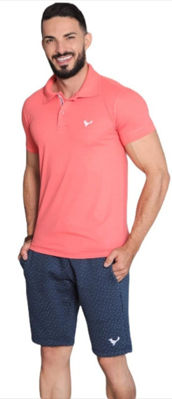 Kit C/ 12 Camisetas Masculina Gola Polo Básica Várias Cores
