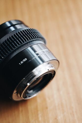 Vendo Lente Sony E 50mm 1.8 Oss