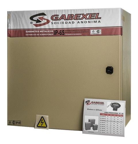 Gabinete Metalico Estanco Ip65 Tradicional 450x450x260mm