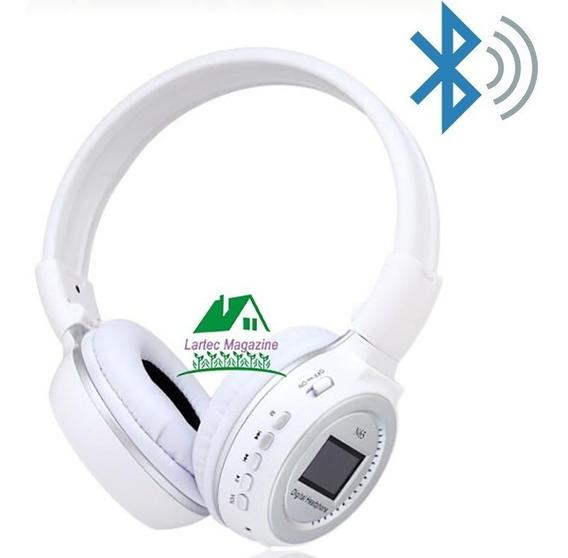 Fone Headphone Sem Fio Bluetooth P2 Mp3 Micro Sd N65 Usb