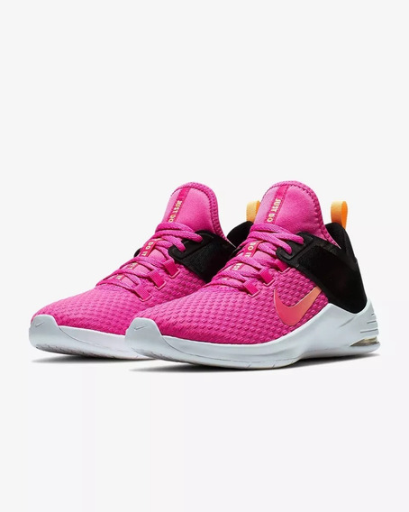 Tenis Nike Air Max Bella Tr 2 Fucsia Mujer Train Originales