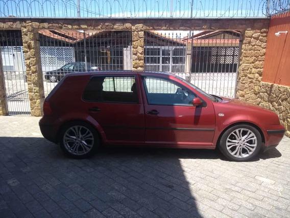 Volkswagen Golf 1.6sr Vermelho - 99/00 - Rodas Aro 17