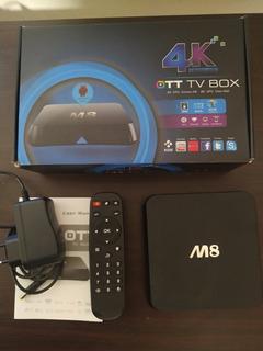 Conversor Smart Tv Android Tv Box Quad Core 4k 8gb- 2gb Ram