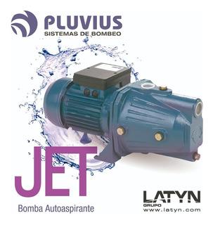 Bomba Autoaspirante 1/2 Hp 40 Mts Pluvius Jet60 Autocebante