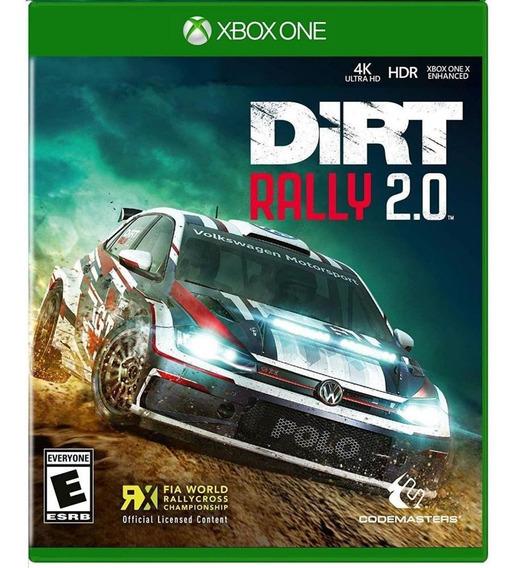 Dirt Rally 2.0 Xbox One Mídia Física Novo Lacrado Original