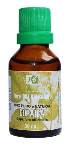 Óleo De Bálsamo De Copaíba 30ml - 100% Puro - Rhr